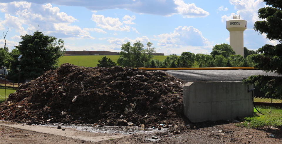 UMN Morris has collected over 600,000 lbs of organics in its first 7 years of composting.